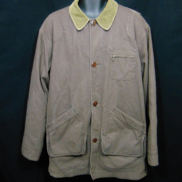 L.L. Bean Other - LL BEAN Barn Chore Coat Jacket L Tall Primaloft